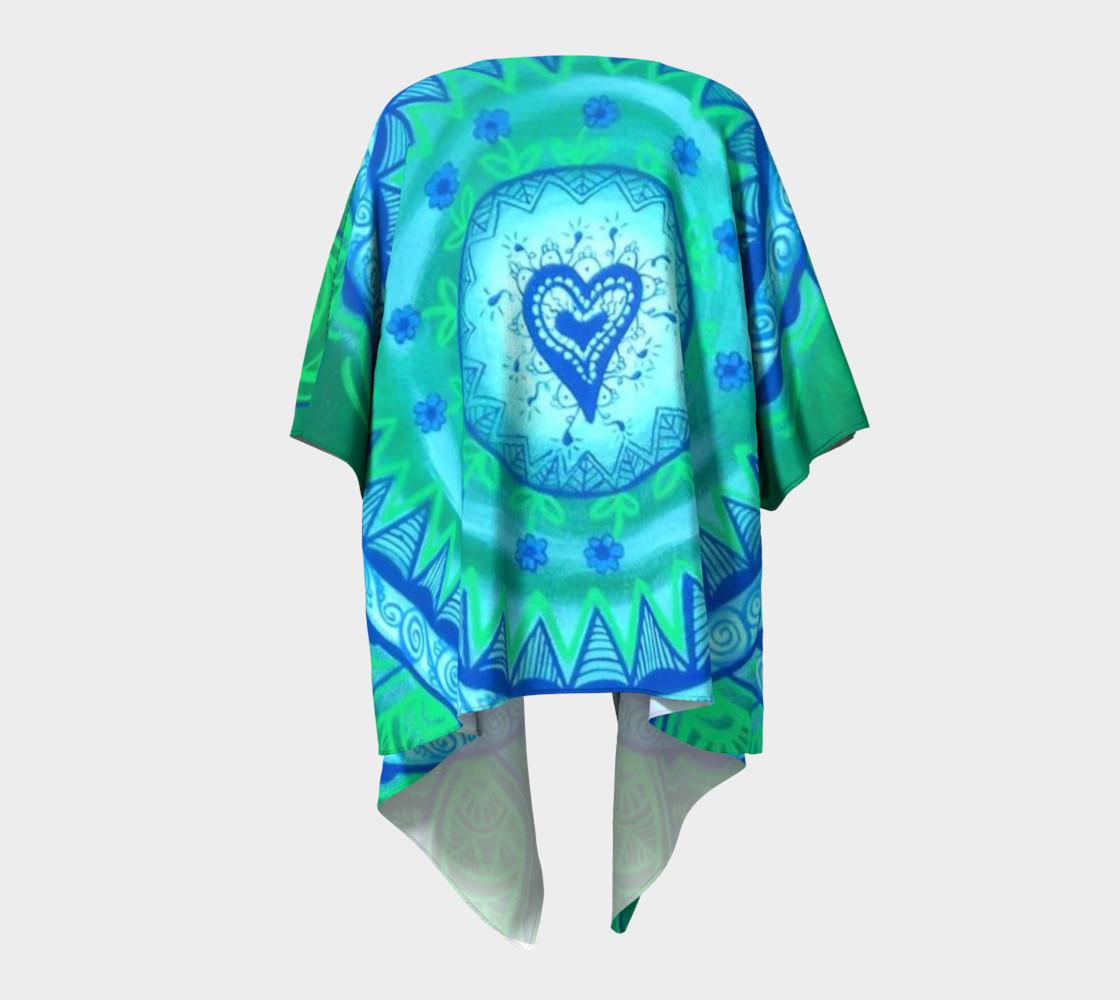 Aperçu de Heart Mandala Drape #4