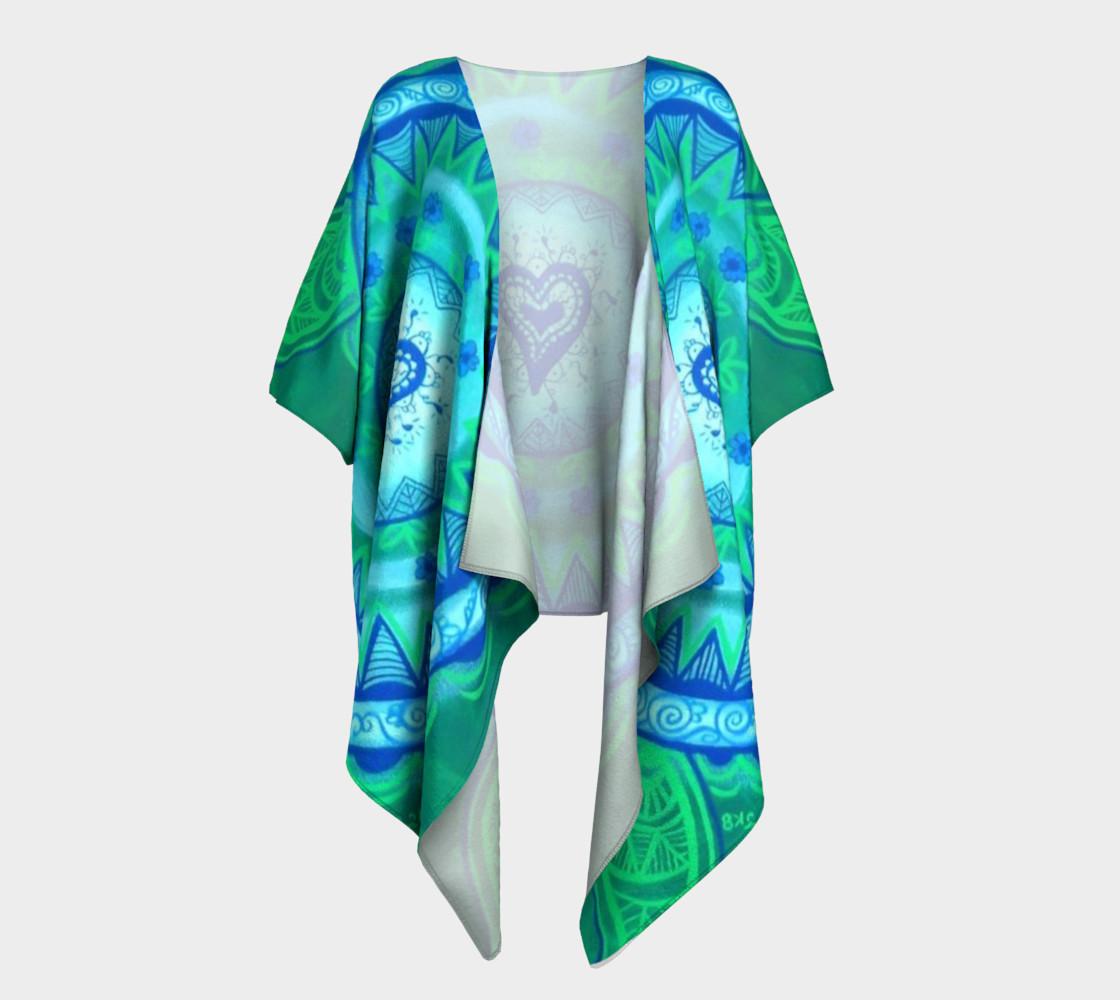 Aperçu de Heart Mandala Drape #1