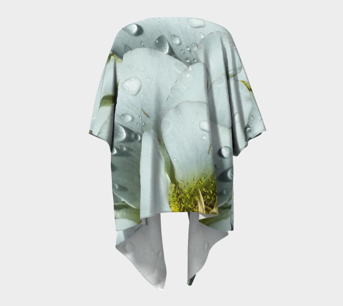 Aperçu de Mariposa Morning Dewdrop Draped Kimono #4