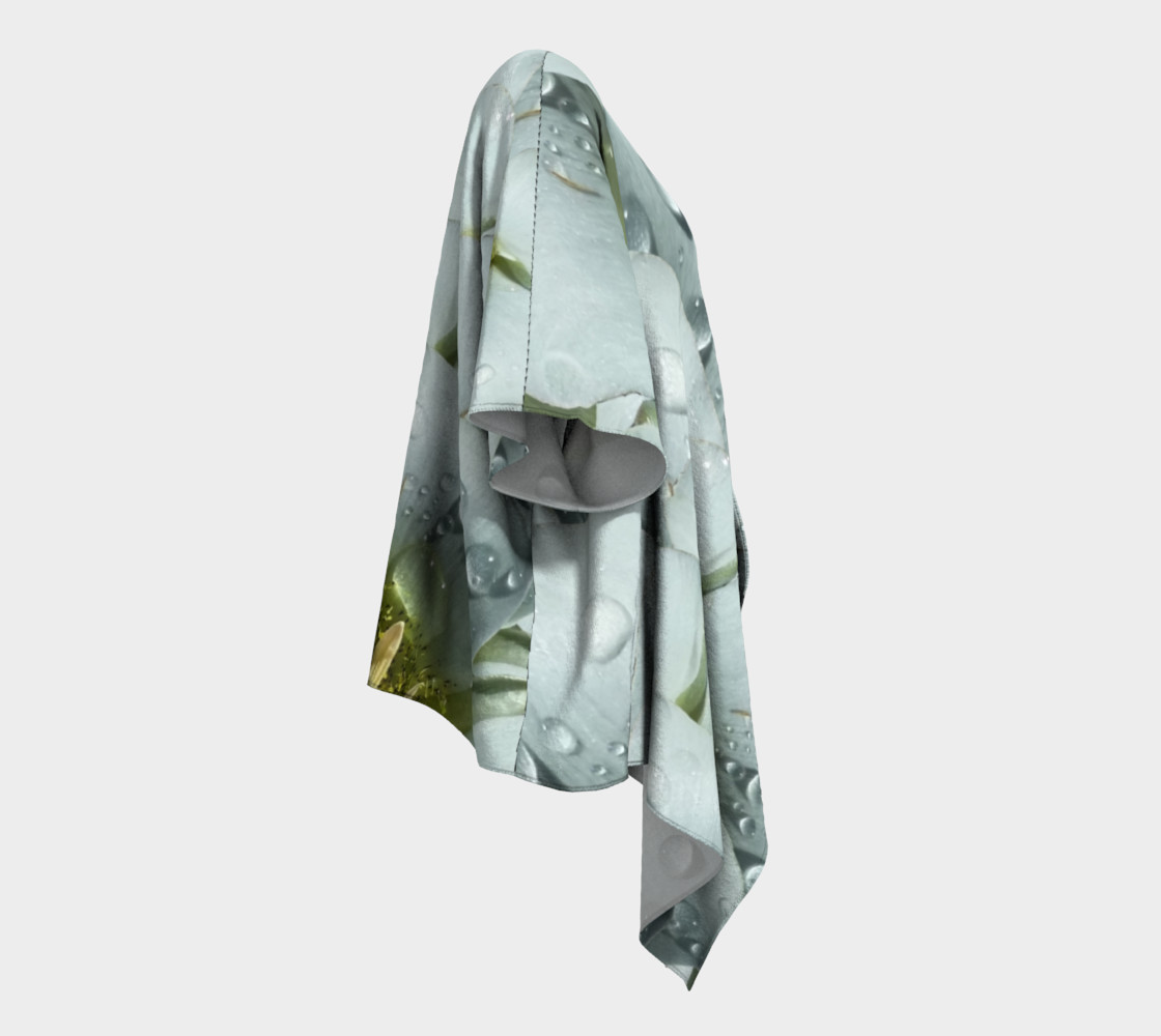 Aperçu de Mariposa Morning Dewdrop Draped Kimono #3