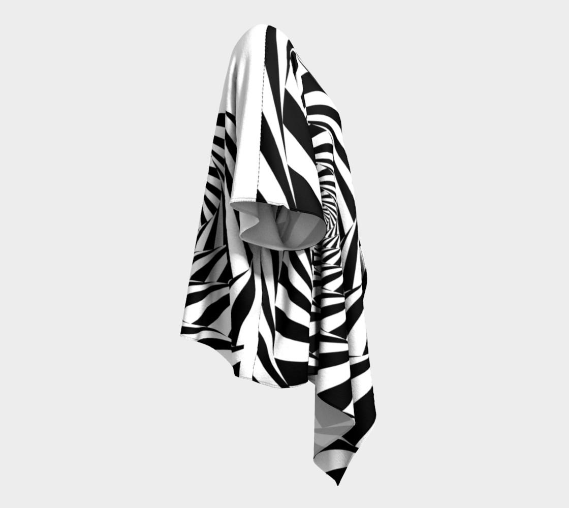 Hypnotic Draped Kimono preview #3