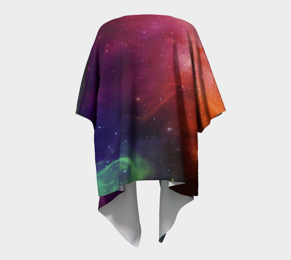 Aurora Portal Draped Kimono by Danita Lyn preview #4
