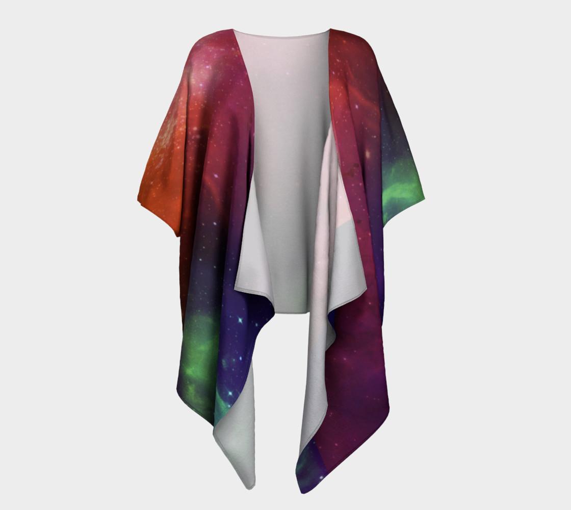 Aurora Portal Draped Kimono by Danita Lyn preview #1