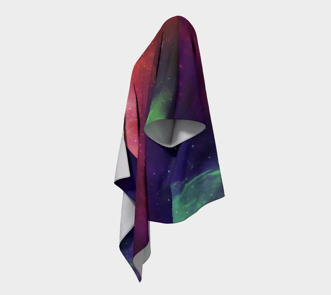 Aurora Portal Draped Kimono by Danita Lyn preview #2