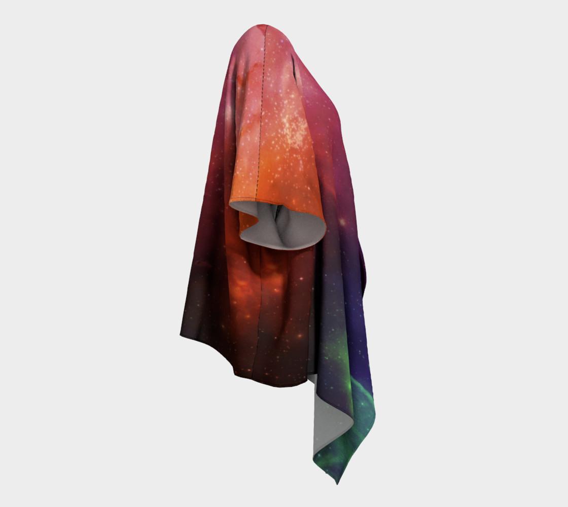 Aurora Portal Draped Kimono by Danita Lyn preview #3