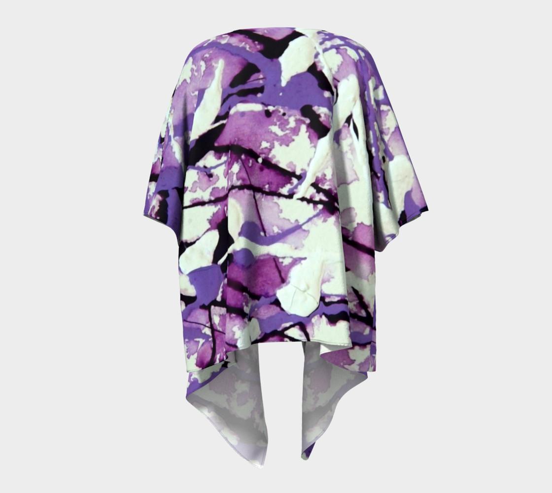 Garden Pixies Draped Kimono preview #4