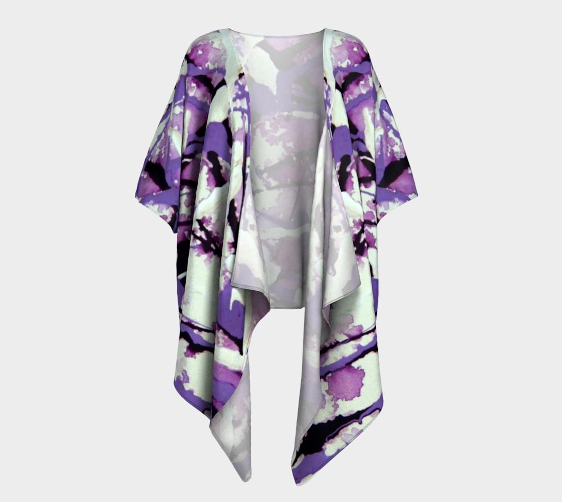 Garden Pixies Draped Kimono preview #1