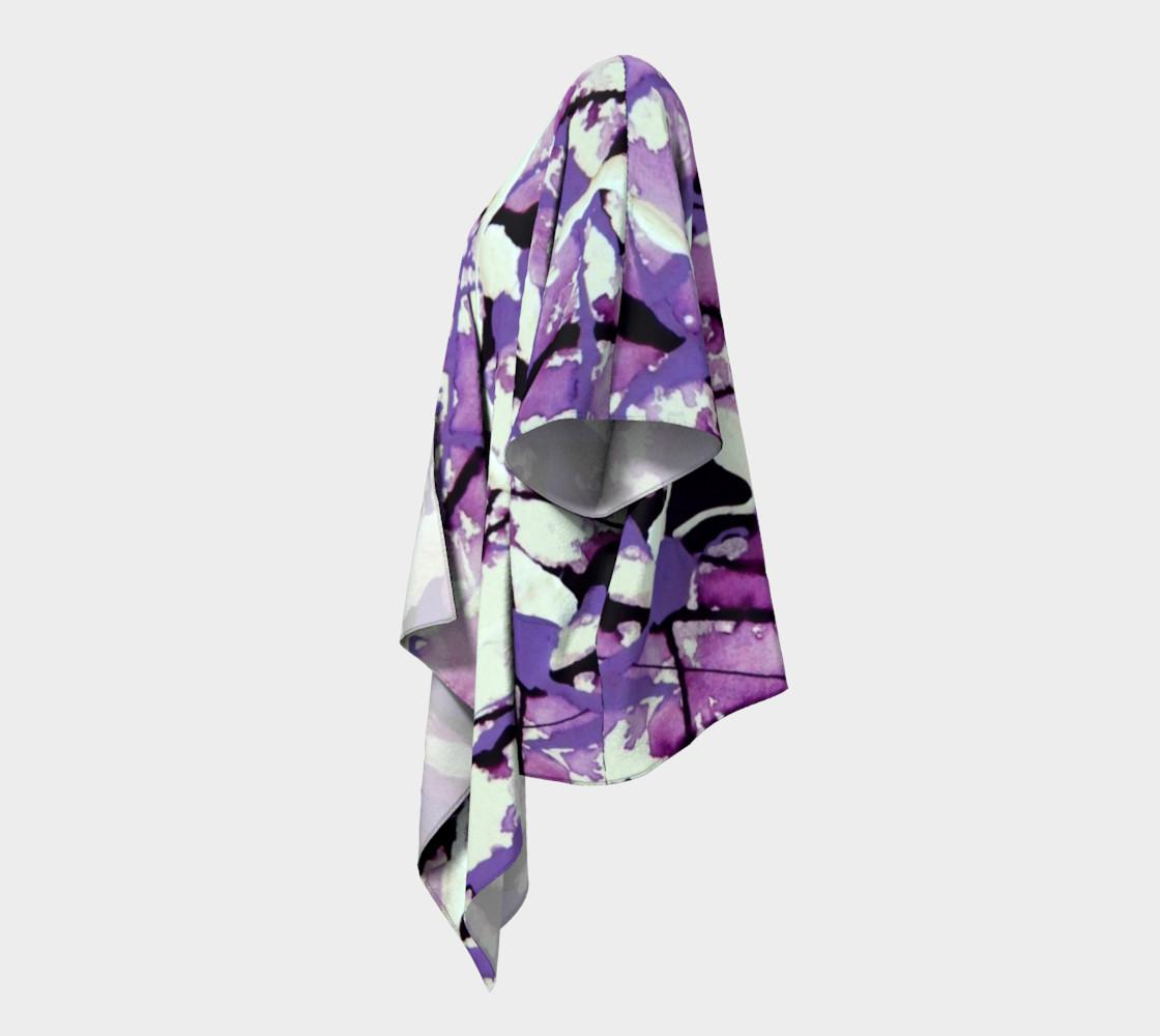 Garden Pixies Draped Kimono preview #2
