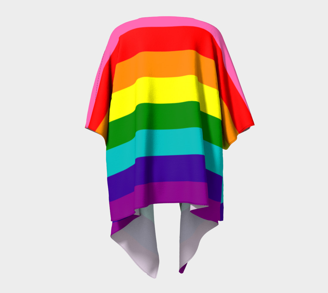 Rainbow Flag Original 8 Stripes Pattern LGBT Pride preview #4
