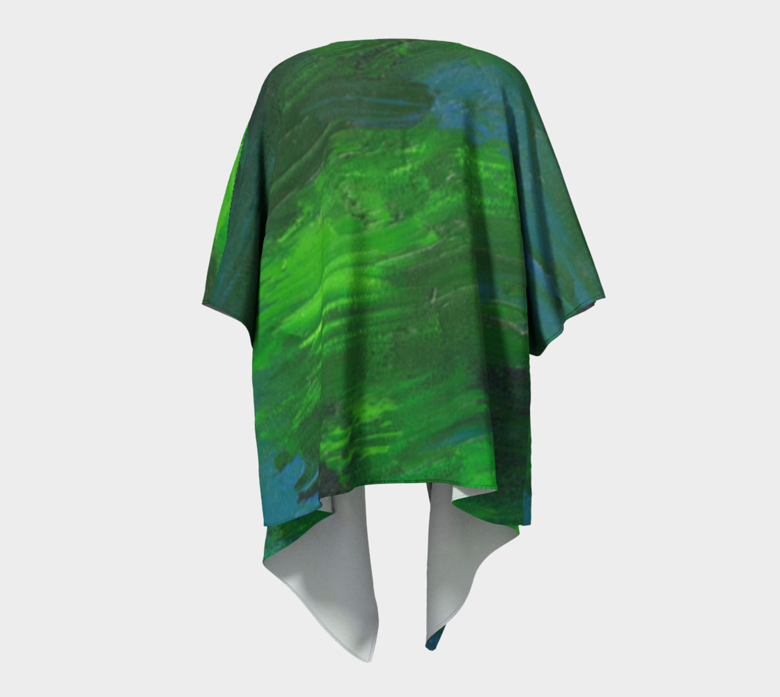 Earthbound Draped Kimono preview #4