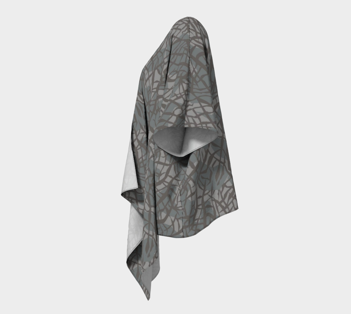 Aperçu de Elephant Skin Draped Kimono #2