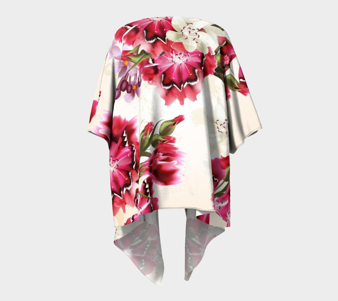 Aperçu de Shabby Chic - Pink and White Flowers #4