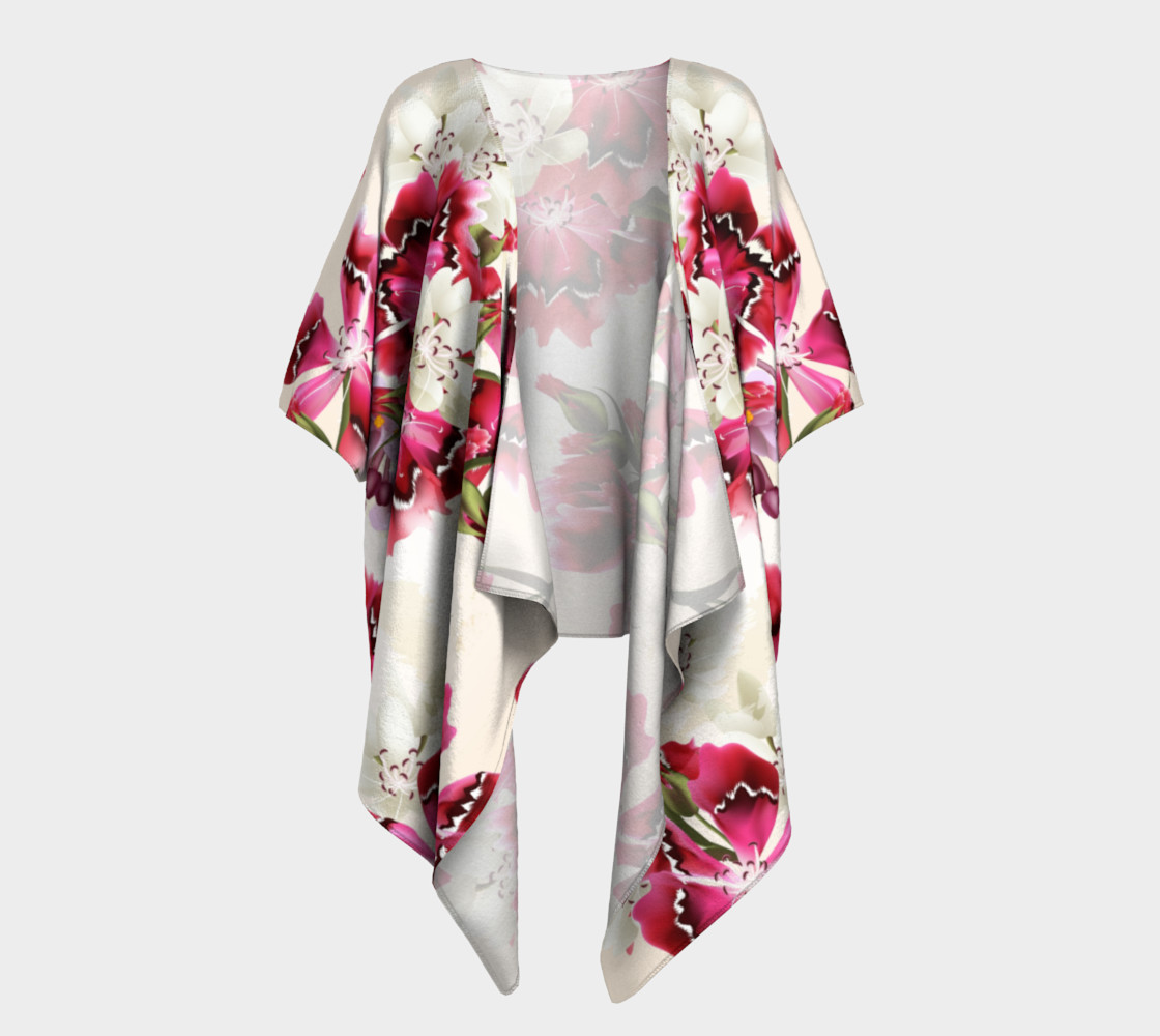 Aperçu de Shabby Chic - Pink and White Flowers #1