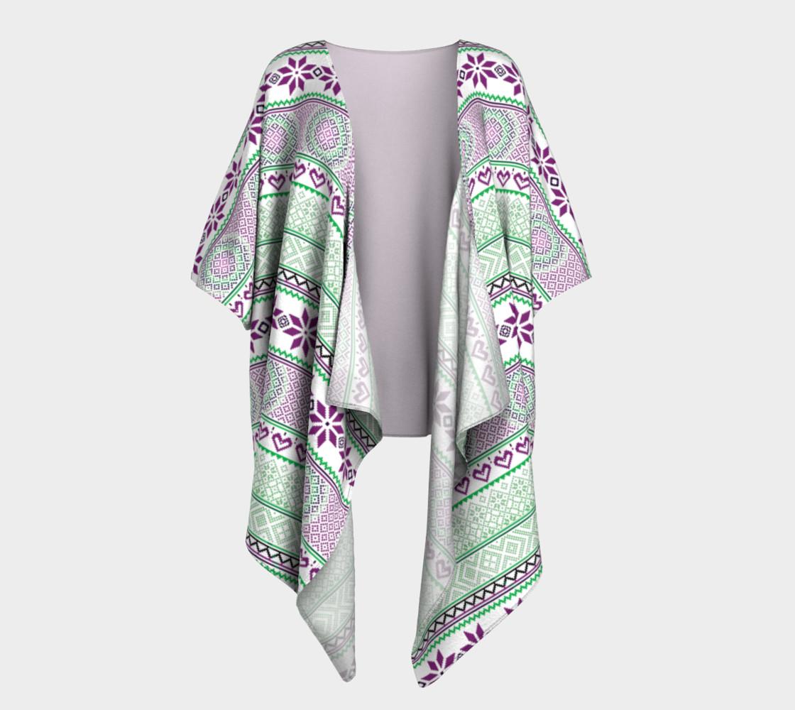 Aperçu de Mint Tribe Kimono #1