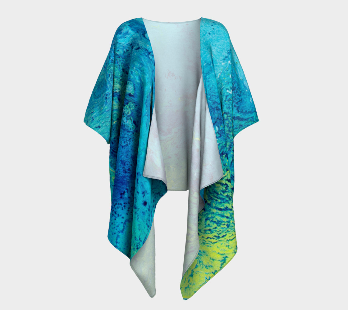 Cool, Calm & Collected Draped Kimono preview #1