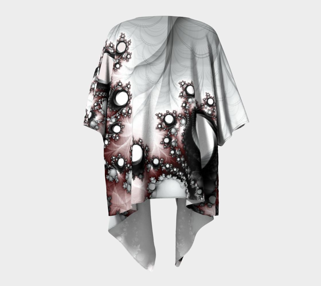String of Pearls Draped Kimono preview #4