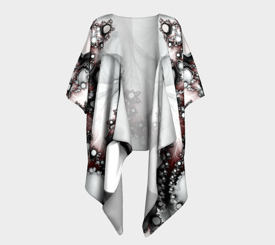 String of Pearls Draped Kimono preview #1