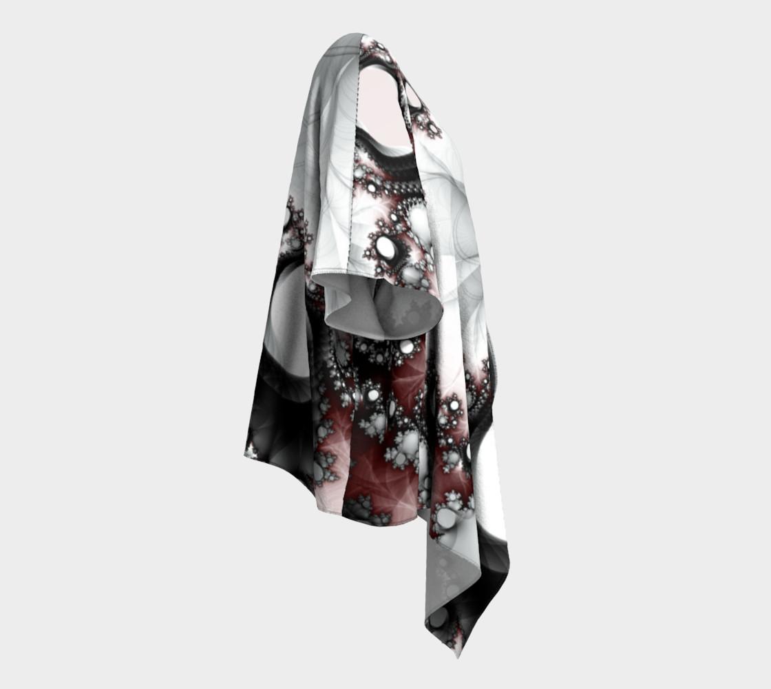 String of Pearls Draped Kimono preview #3