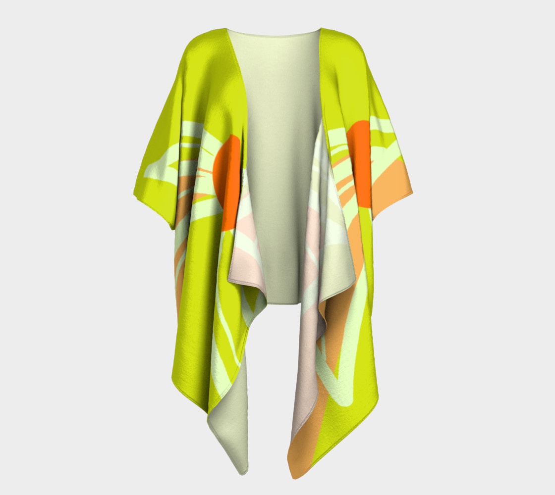 Lime Green and Peach see matching ensemble preview #1