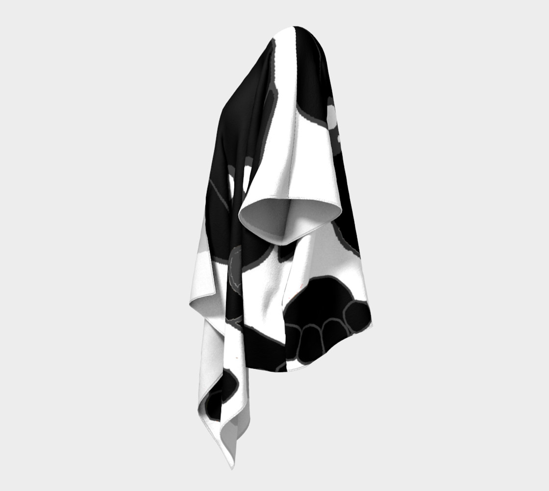 catahoula leoaprd dog black peeking preview #2