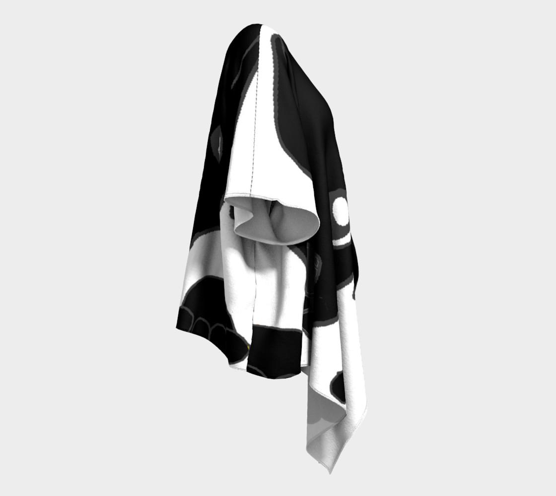 catahoula leoaprd dog black peeking preview #3