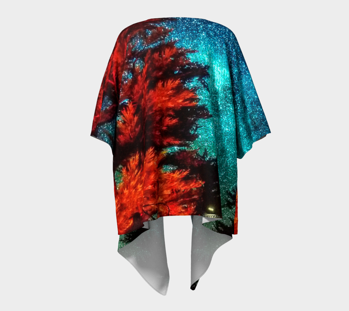 Aperçu de Wildfire Sign - The Search for Everything Draped Kimono #4