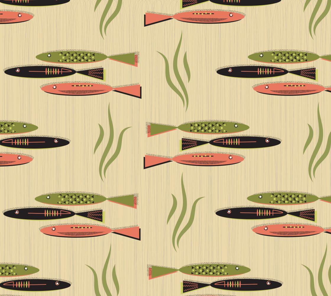 Mid-Century Modern Fish Lrg thumbnail #1