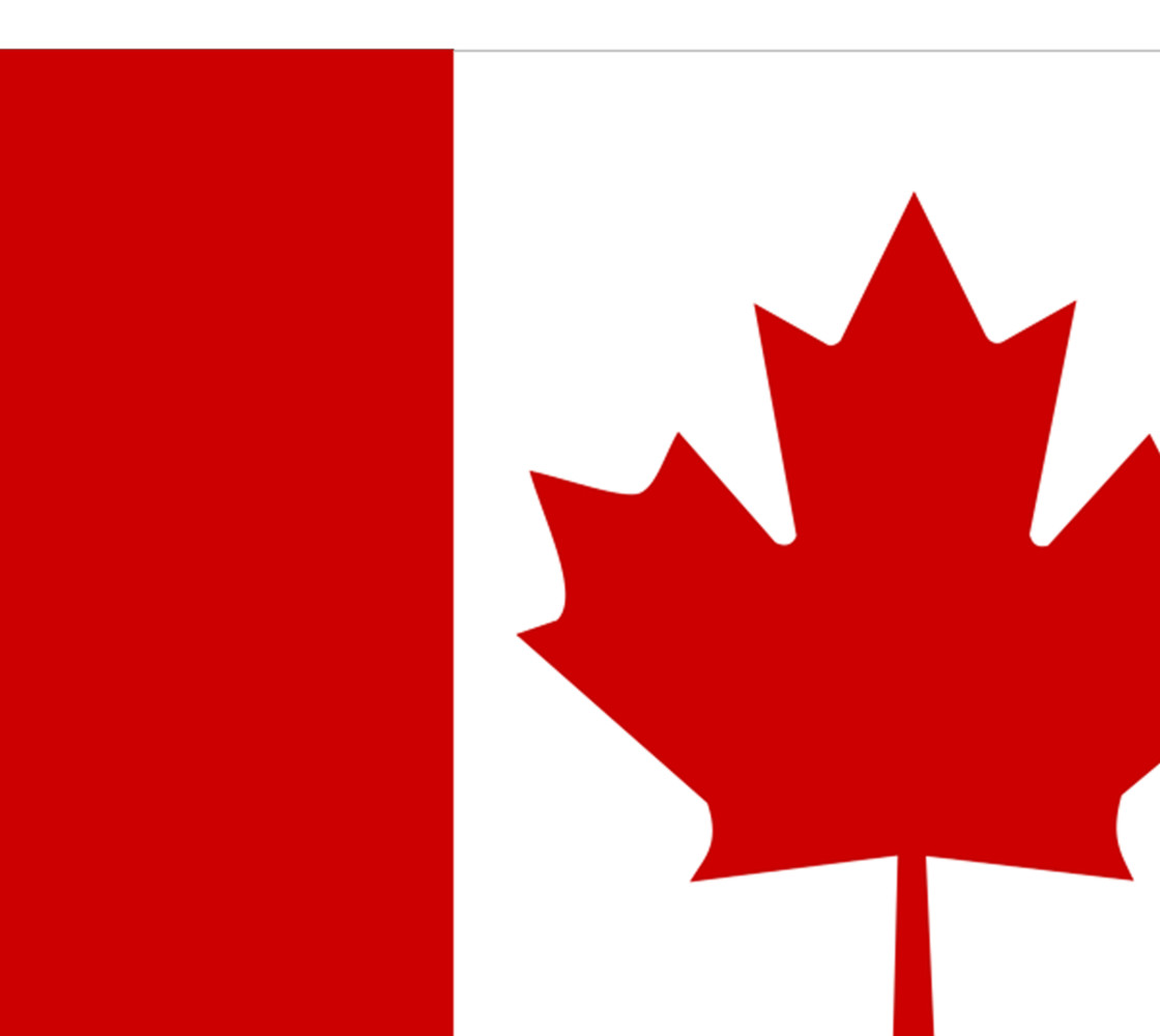 Flag of Canada, Red and White, Red Maple Leaf Fabric thumbnail #1