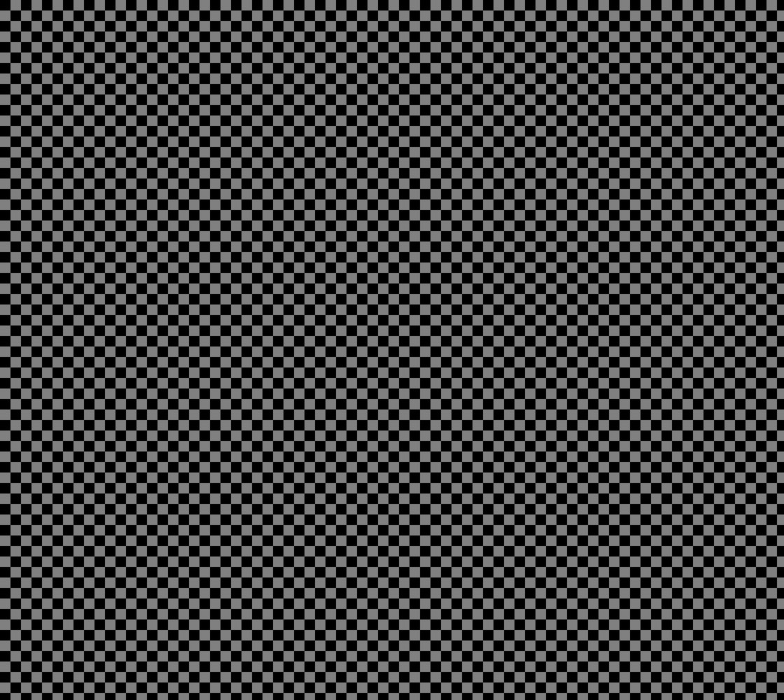 Half Inch Black and Medium Grey Checkerboard Squares. Each square is a half inch wide and tall.  thumbnail #1