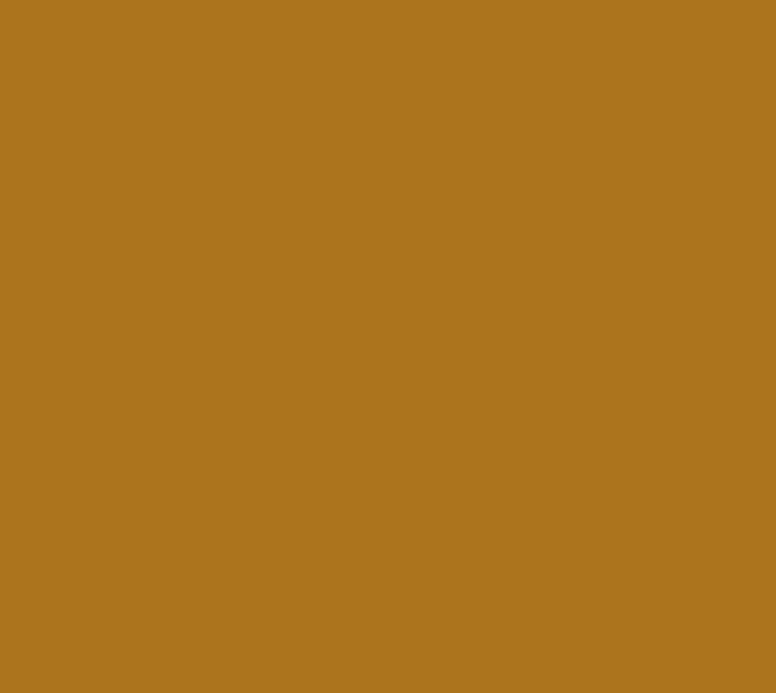 Solid Matte Antique Gold Miniature #1