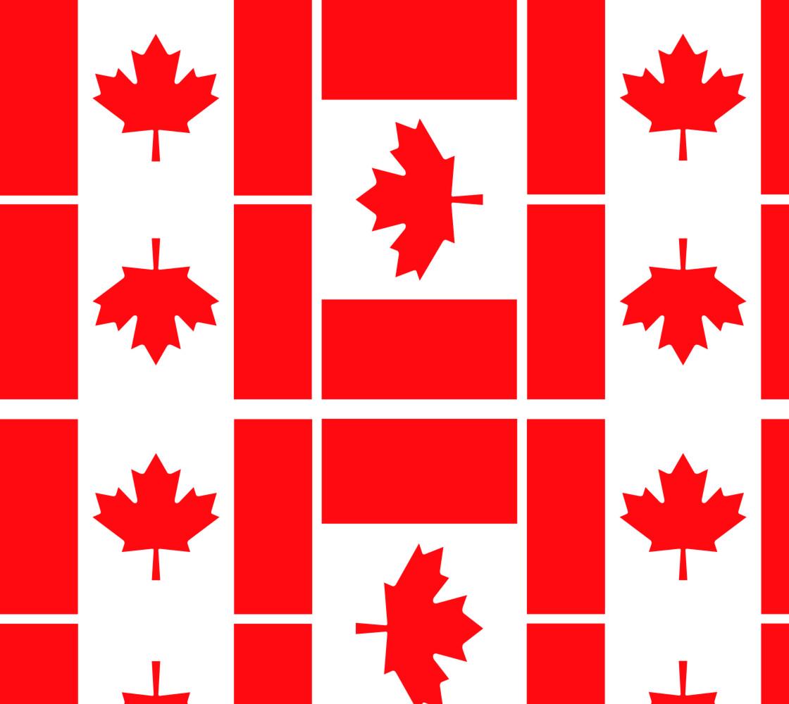 Canada Flag Fabric thumbnail #1