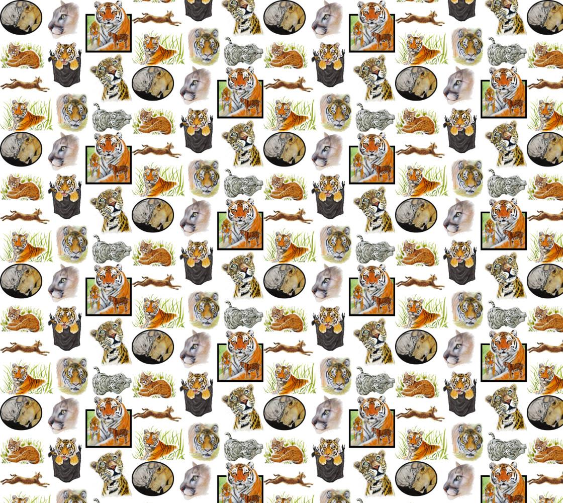 Big Cat Pack 1 Miniature #1