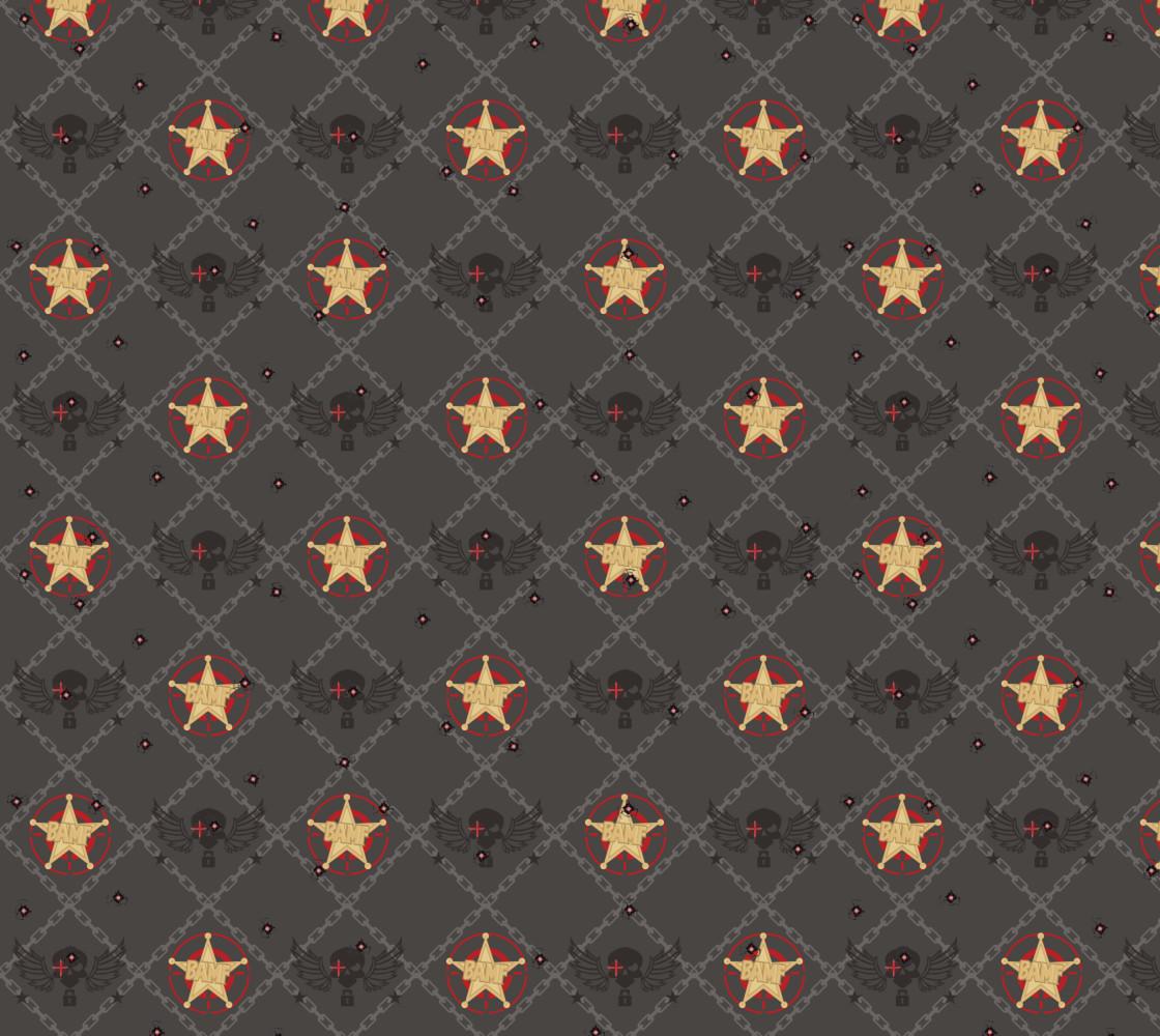 McCree Inspired Pattern Miniature #1