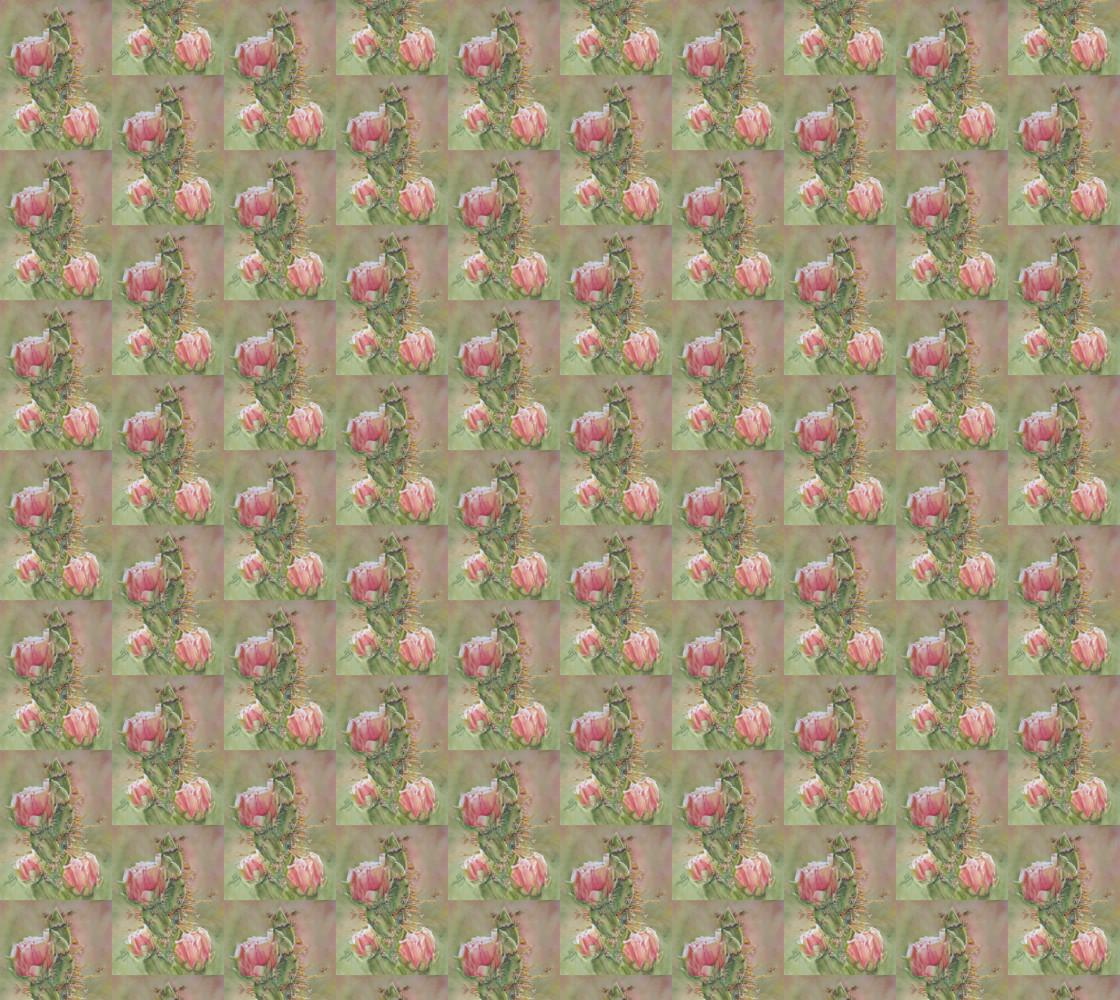 Peach Pink Cactus Flower thumbnail #1