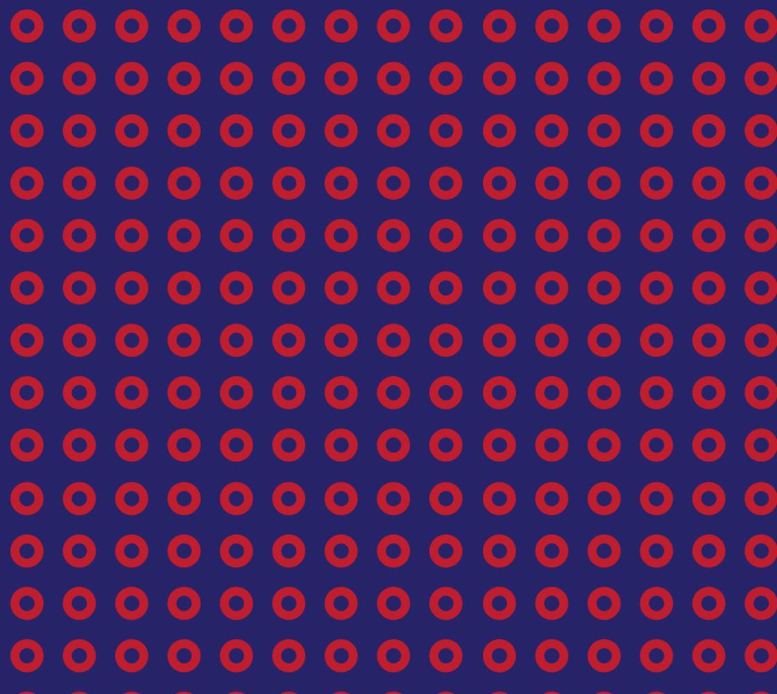Red Donut Phan Fishman Circles thumbnail #1