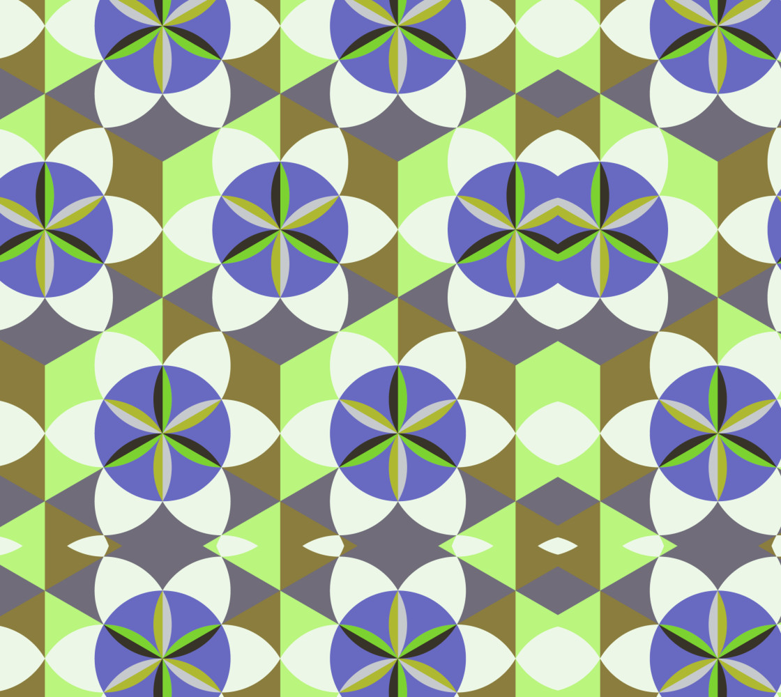 FLOWER OF LIFE TILE GOMETRY thumbnail #1