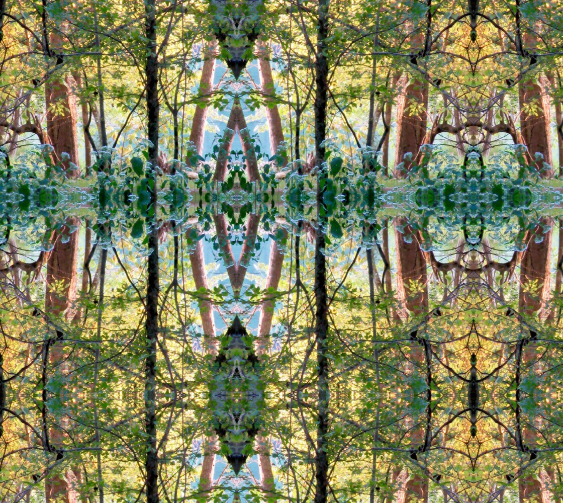 The Magical Forest of Memory: Mirror Repeat thumbnail #1