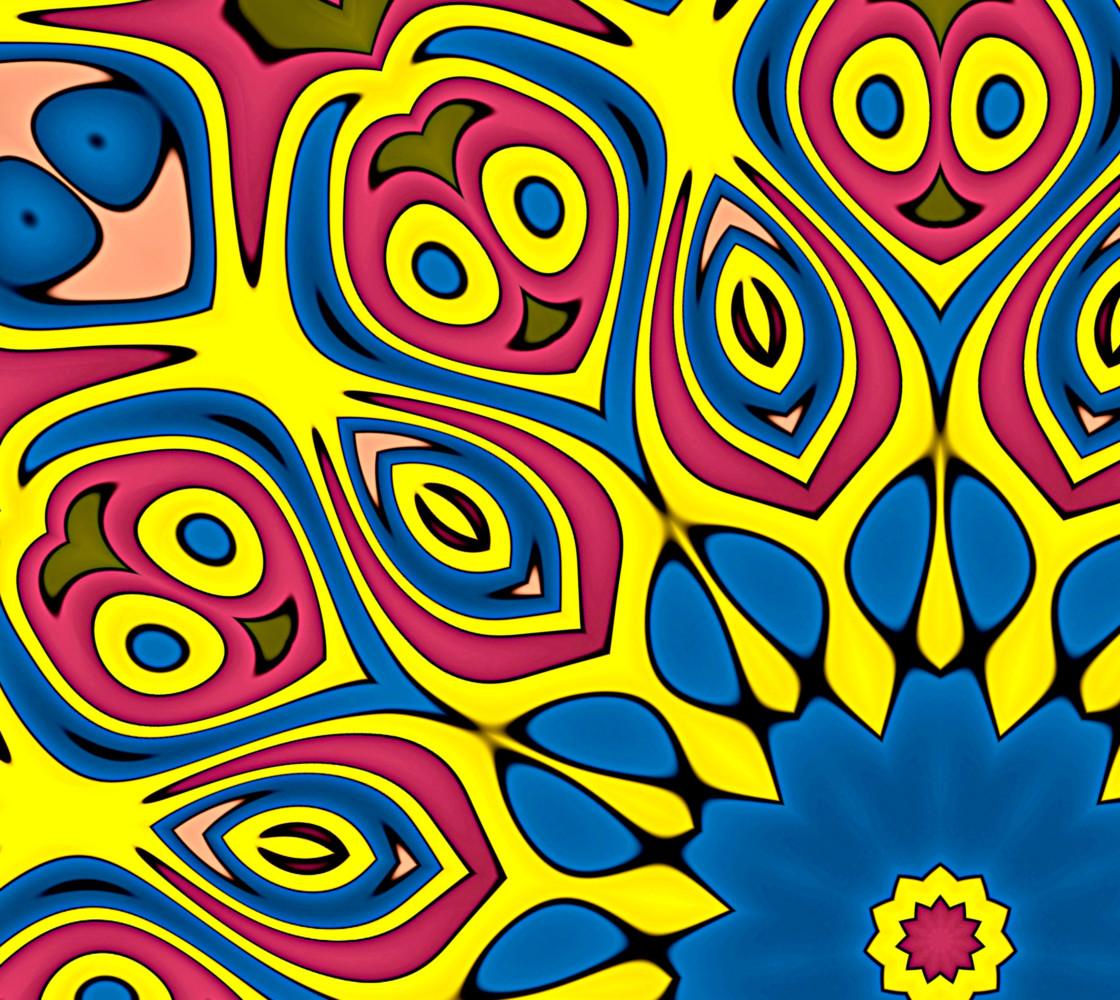 Yellow Flower Mandala thumbnail #1