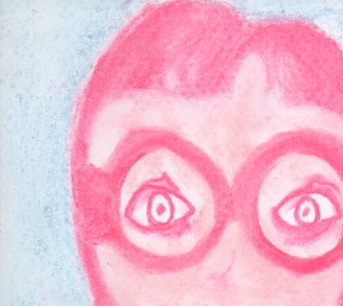 Funny Portrait Face Pink Woman wearing Glasses thumbnail #1