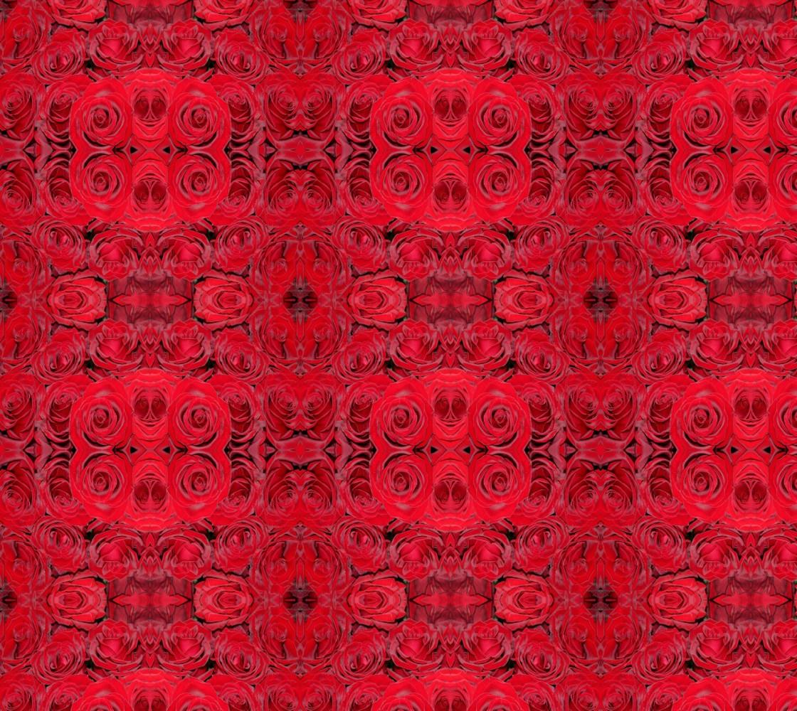 Romantic Red Roses Floral Design thumbnail #1