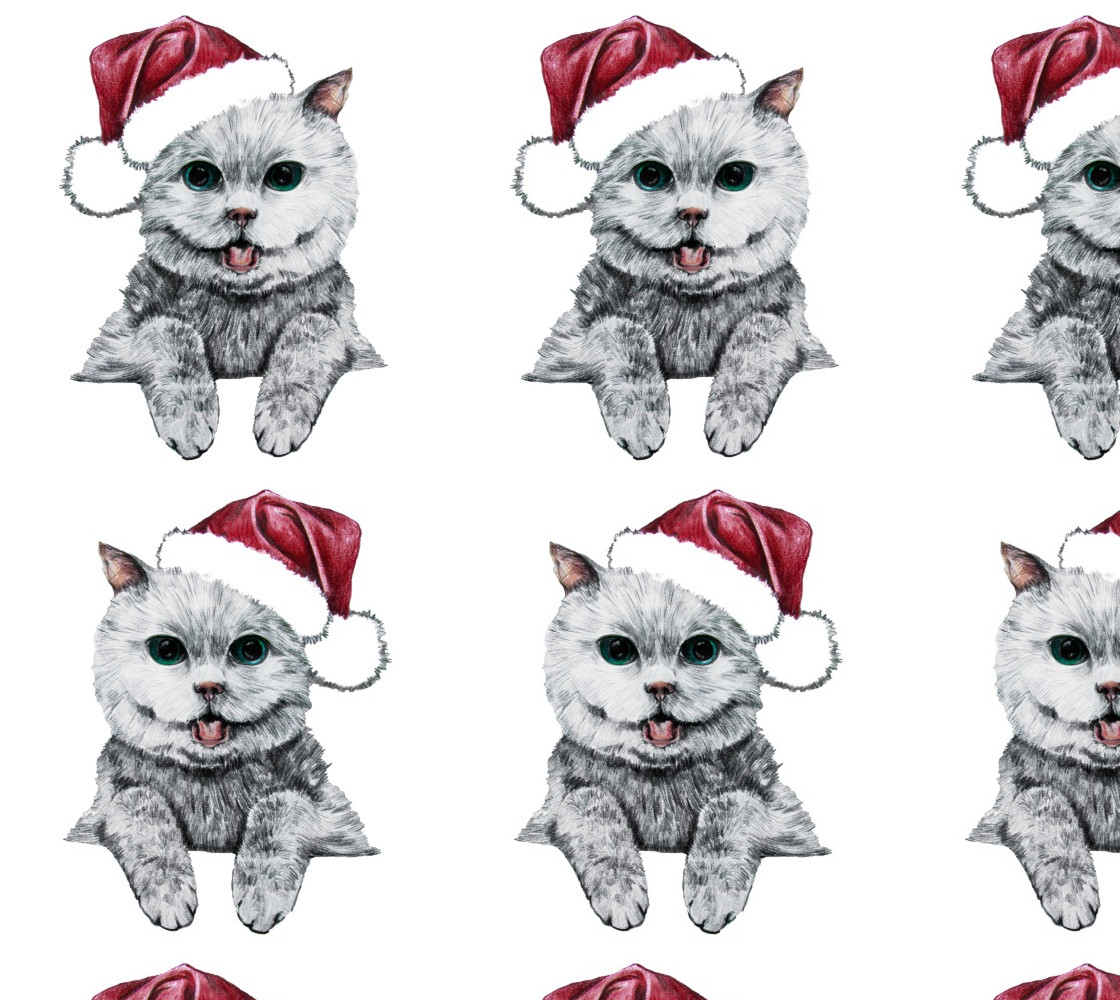 Merry christmas CAT Miniature #1