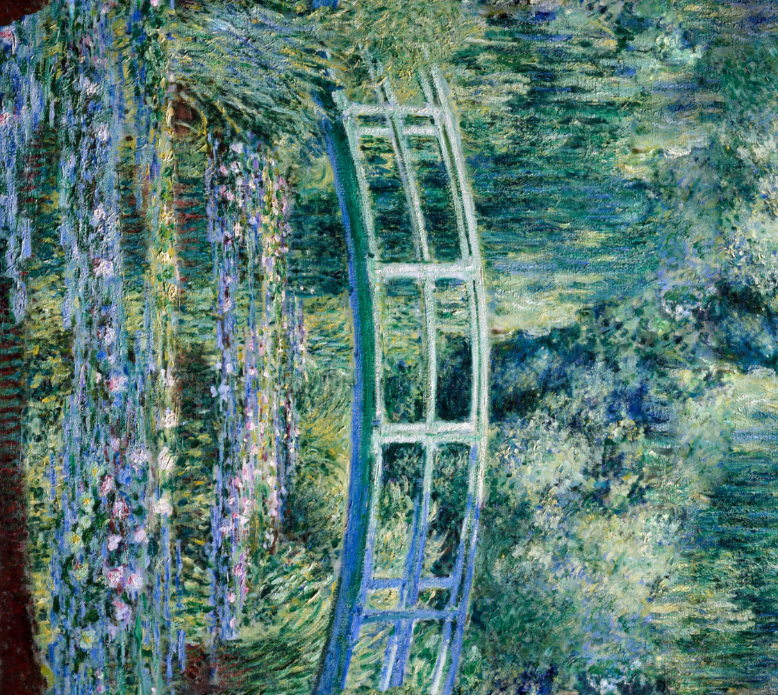 Monet - Water Lily Pond Miniature #1