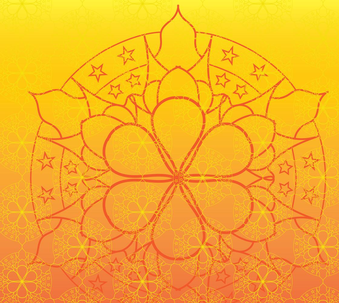 Horizon Mandala Star Fabric thumbnail #1
