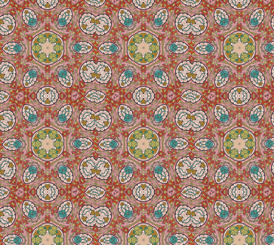 Twisted Flower Mosaic thumbnail #1