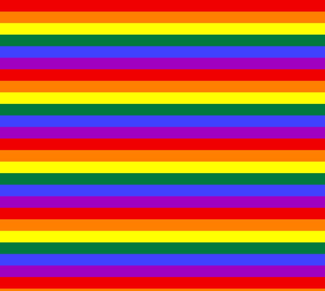 Rainbow Gay Pride Fabric Miniature #1