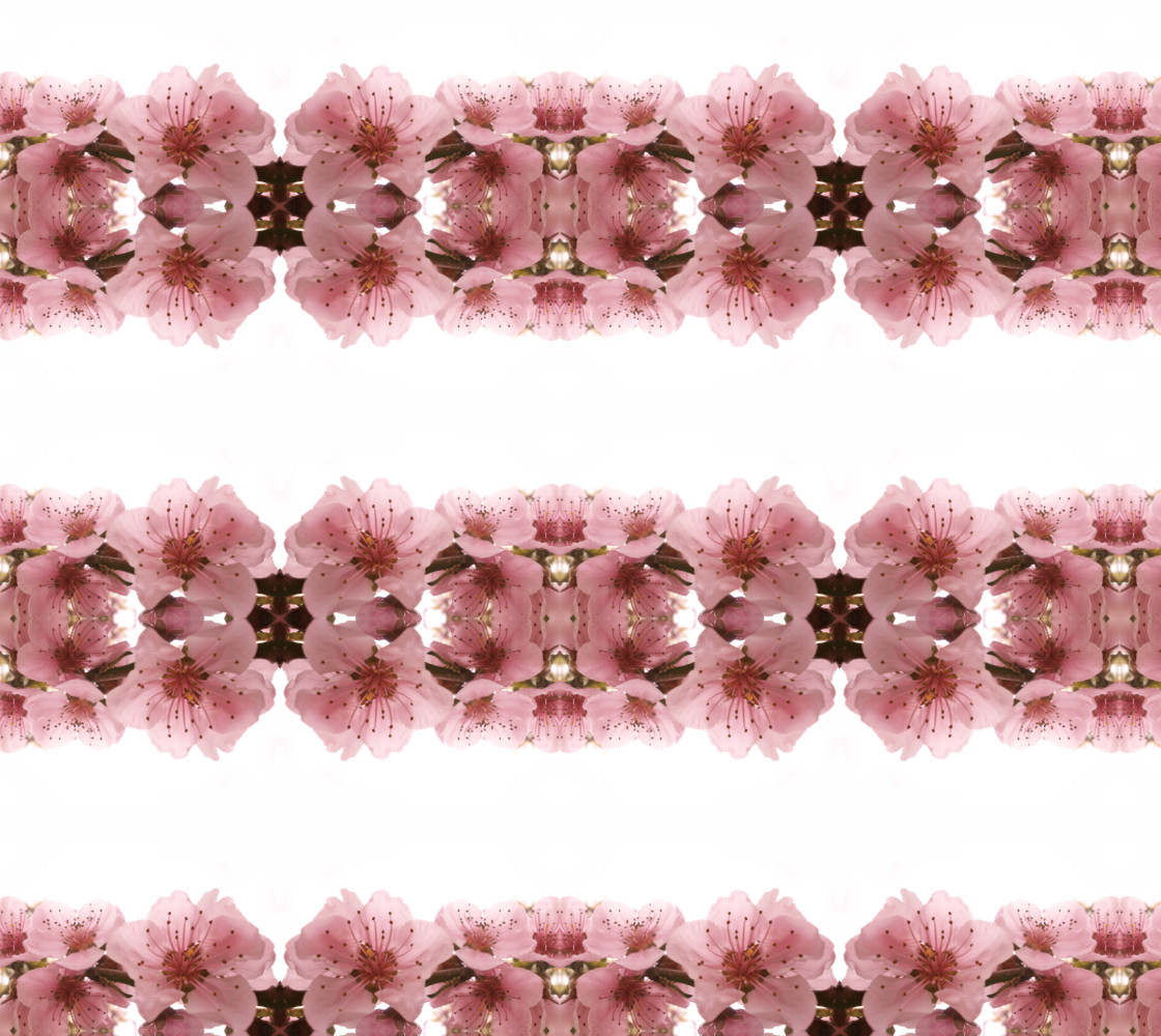 Peach blossom pattern. Miniature #1