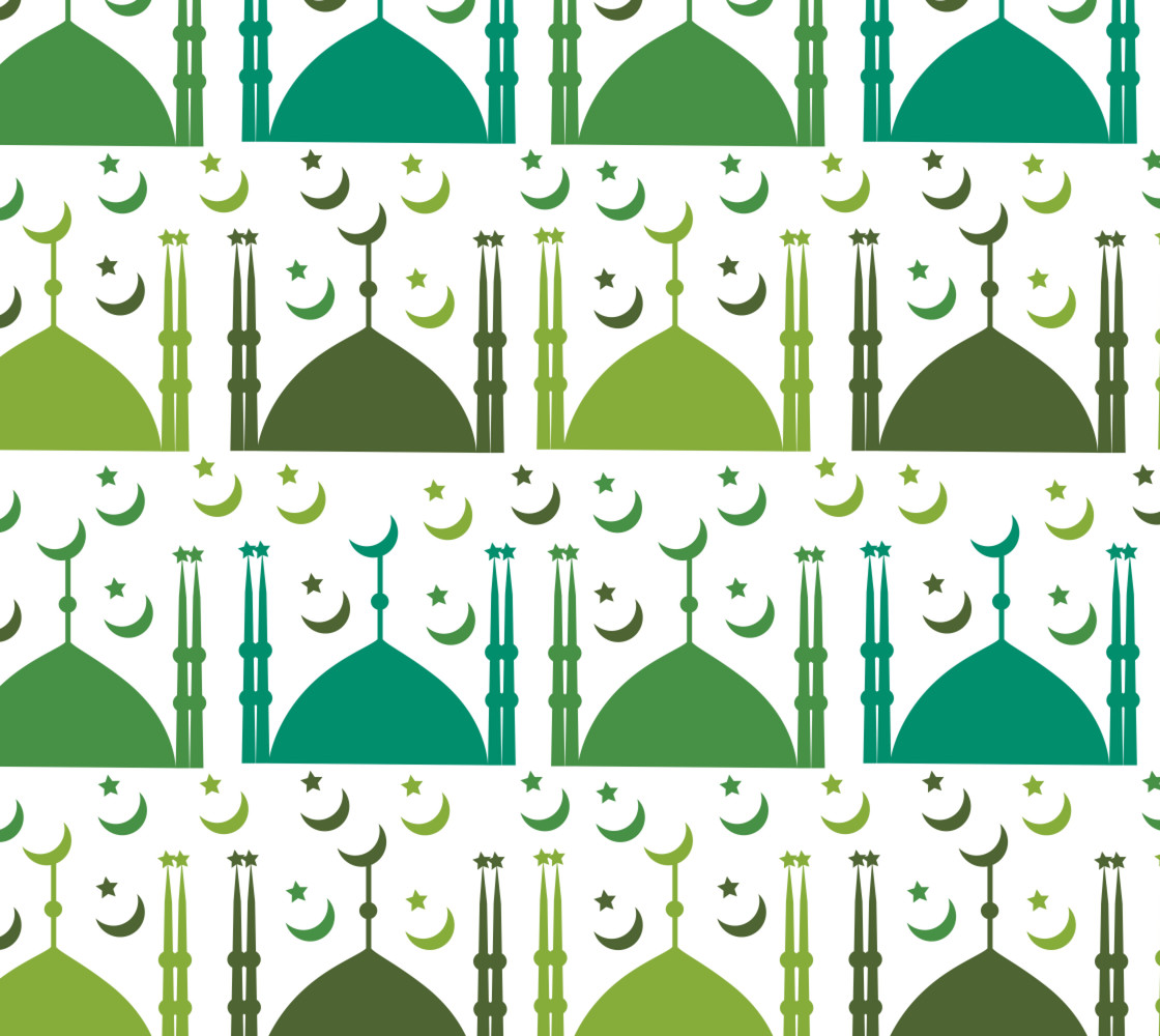 Islamic Arabic Pattern Miniature #1