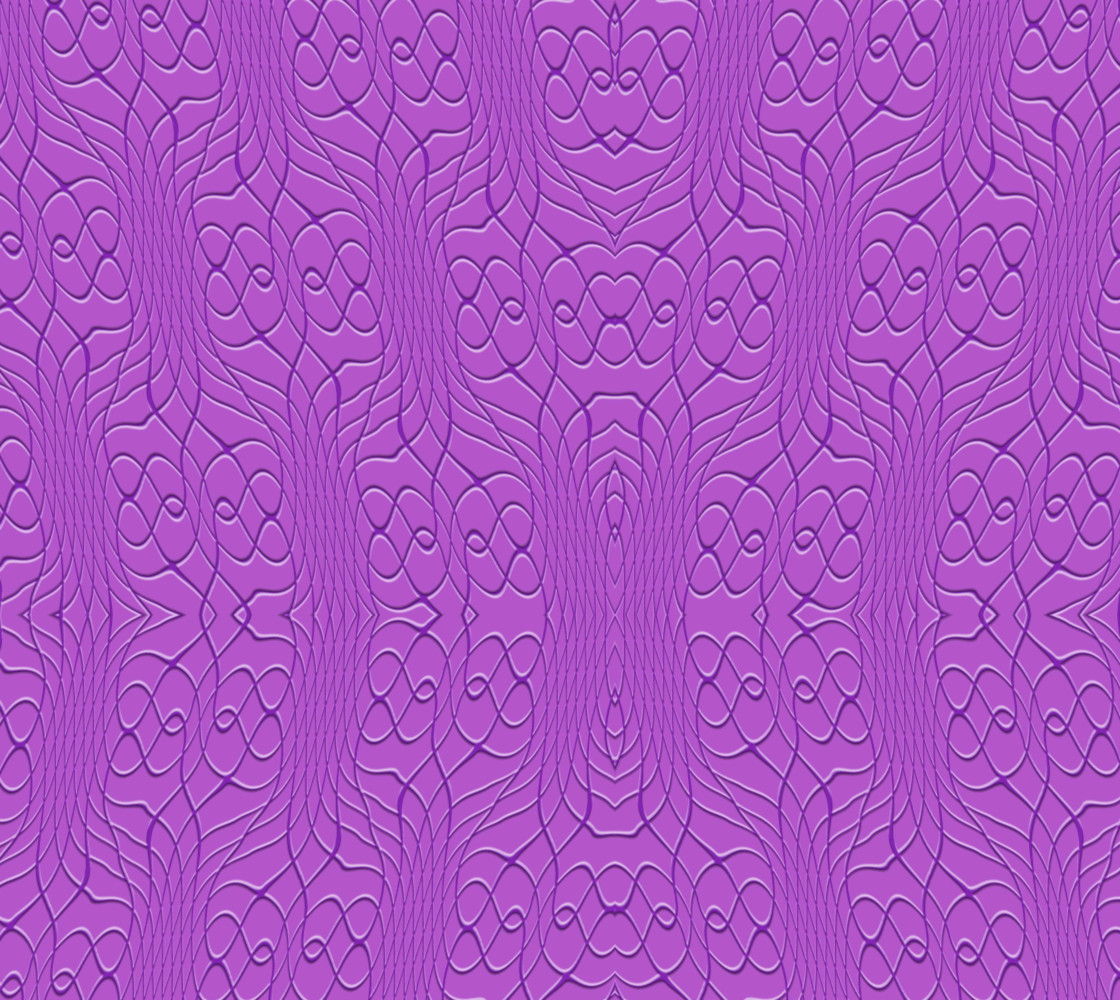 Purple Pineapple Twist Fabric thumbnail #1
