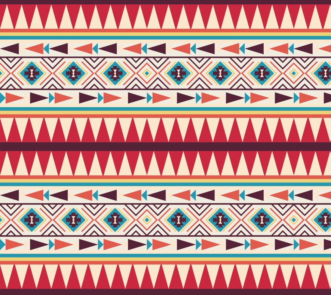 Aztec Tribal Pattern  Miniature #1
