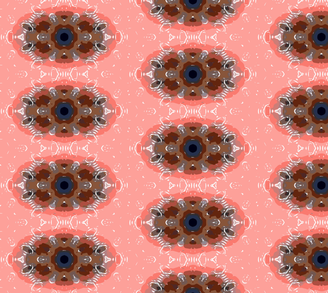 Salmon Mandala thumbnail #1